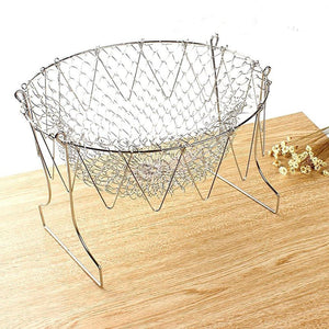 Rompsun™ Stainless Steel Chef Basket