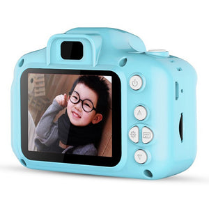 Rompson™ 2020 New Mini Digital Camera for Kids Cute Camcorder Video Xmas Gifts(with 8G memory card)
