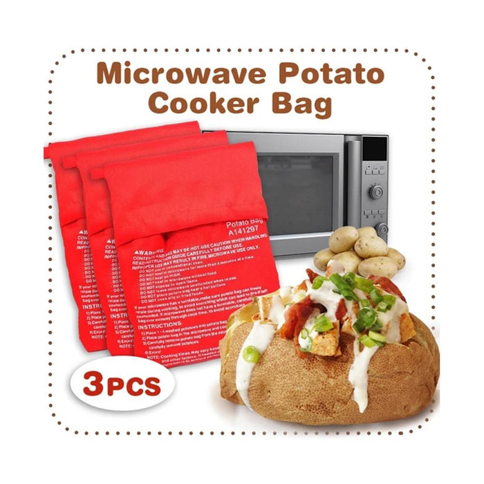 Rompsun™ Quick Cooking Microwave Potato Cooker Bag