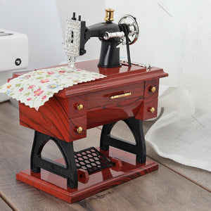 Rompsun™ Mini Sewing Machine Music Box