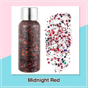 Rompsun™Various colors of face and body dressing glitter gel cream