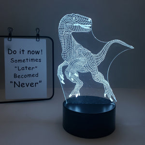 Rompsun™  Children's 3D Dinosaur Night Light, Creative Gift