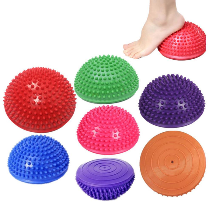 Rompsun™ Half Round Massage Ball, Massage Yoga Balls for Children and Adults