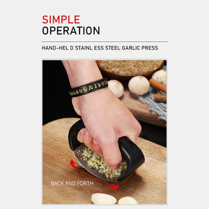 Rompsun™ Multi-Function Manual Garlic Presser