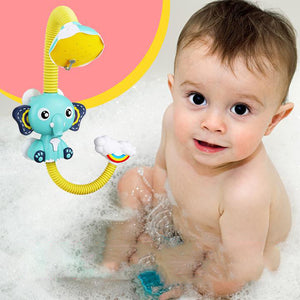 Rompsun™ Cute Elephant Baby Bath Shower Head