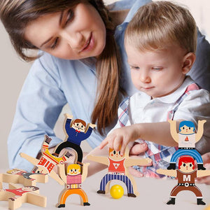 Rompsun™ Wooden Stacking Blocks Balancing Toy