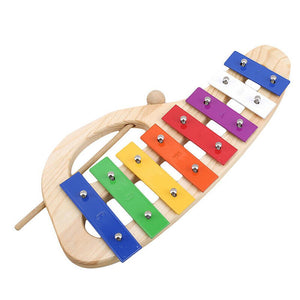 Rompsun™ Colorful Percussion Instrument Toy 8-tone Piano Hand Knocking Baby Music Toy
