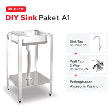 Load image into Gallery viewer, Paket DIY Sink HK-D553C