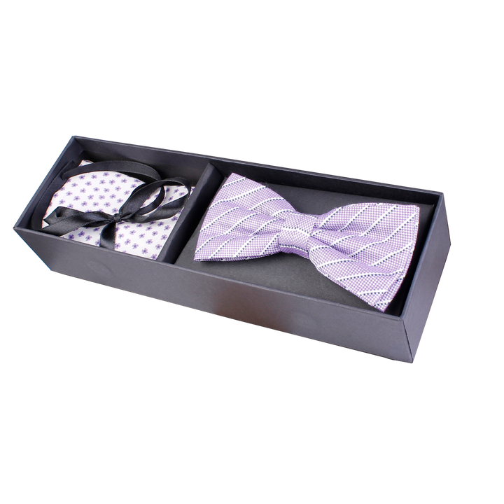 Bow Tie & Pocket Square Set