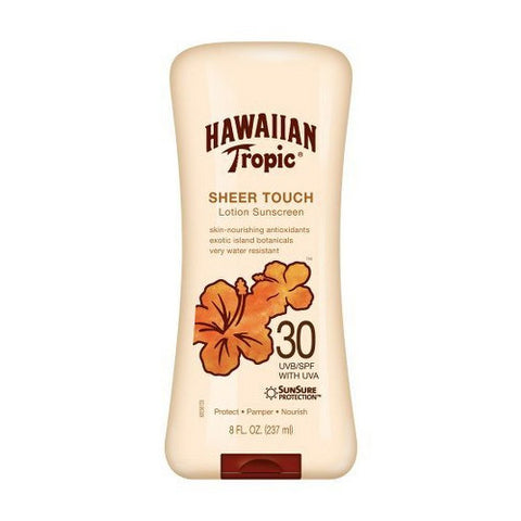 Sunblock, SPF 30, Lotion, Hawaiian Tropic
