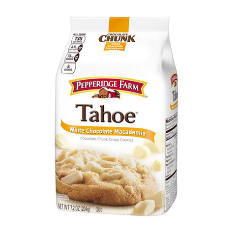 White Chocolate Macadamia Tahoe Crispy Cookies
