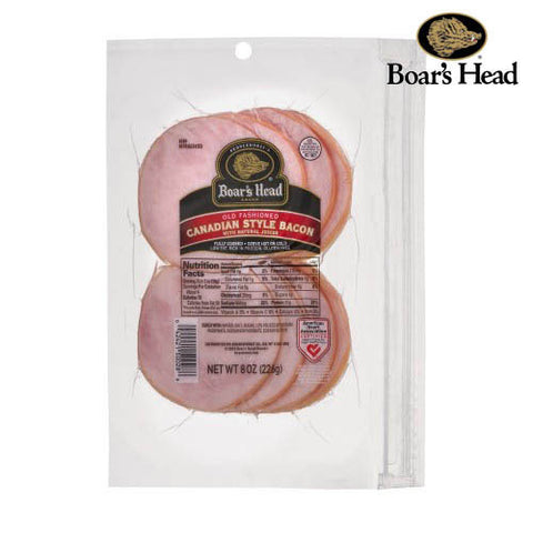 Bacon, Canadian Style, sliced, Boar's Head
