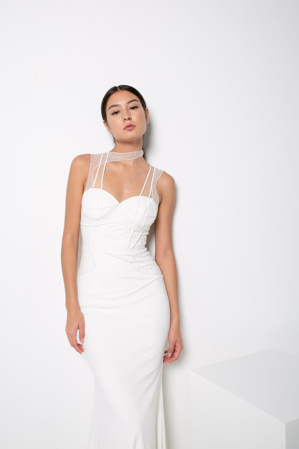 AMARA GOWN IN WHITE
