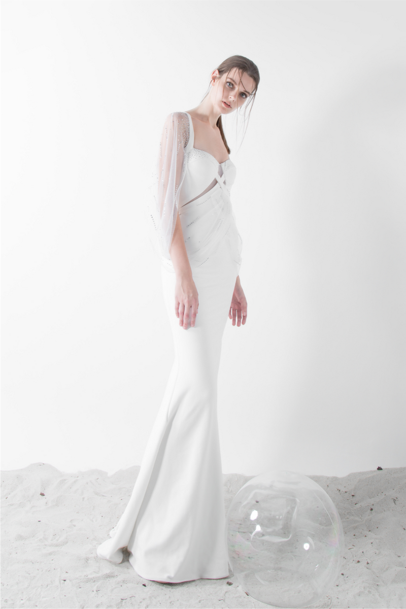 ORPHIC PW GOWN - MIZPHENIX