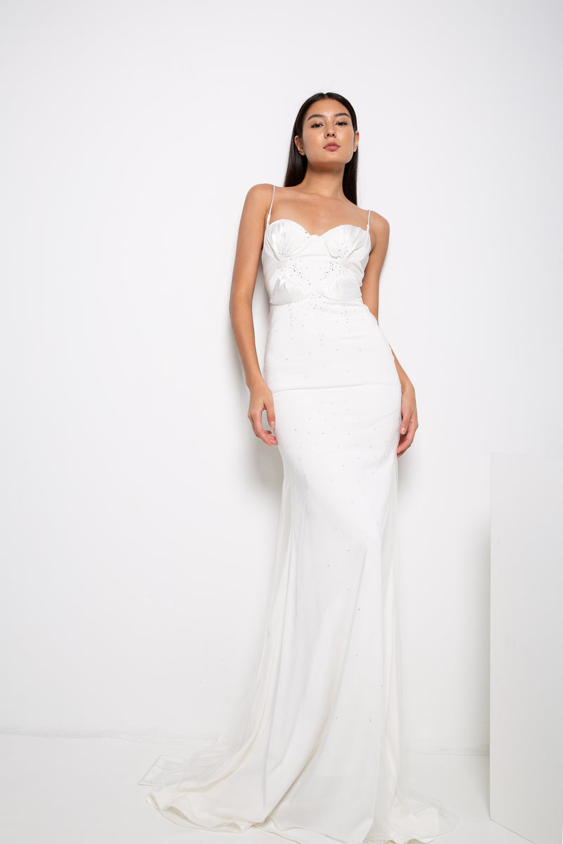 MILLIE GOWN IN WHITE