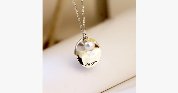 Mom Charm Pendant(Round) - FREE SHIP DEALS