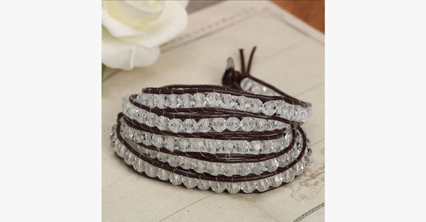 Vintage Clarity Wrap Bracelet - FREE SHIP DEALS