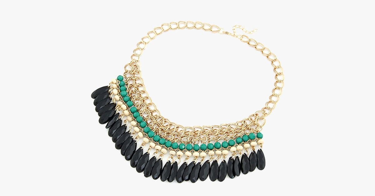 Traditional Statement Necklace