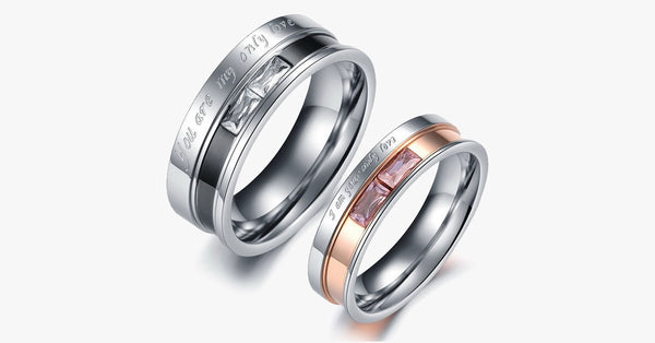 Only Love Couples Rings - FREE SHIP DEALS