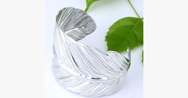 Vintage Leaf Bangle - FREE SHIP DEALS