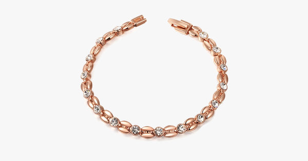 Wheat-Shaped Rose Gold Bracelet - FREE SHIP DEALS