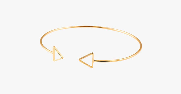 Triangle Cuff Bangle