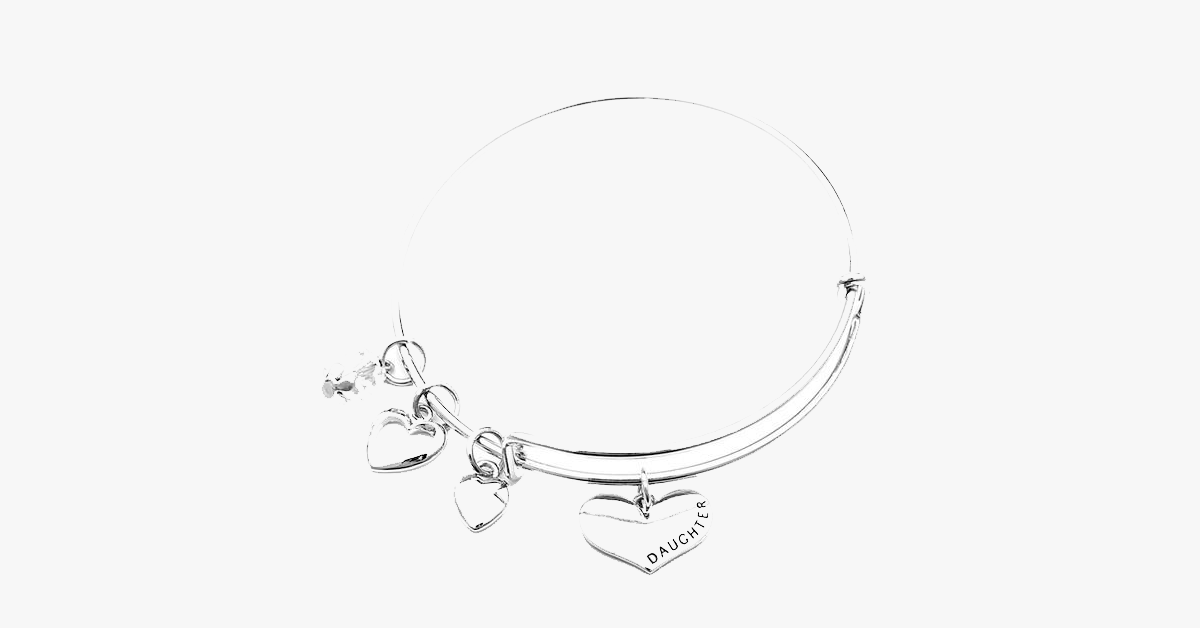 Mother Daughter Charm Bangle Set - FREE SHIP DEALS
