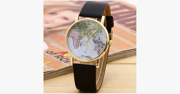 Wanderlust Leather Strap Watch - FREE SHIP DEALS