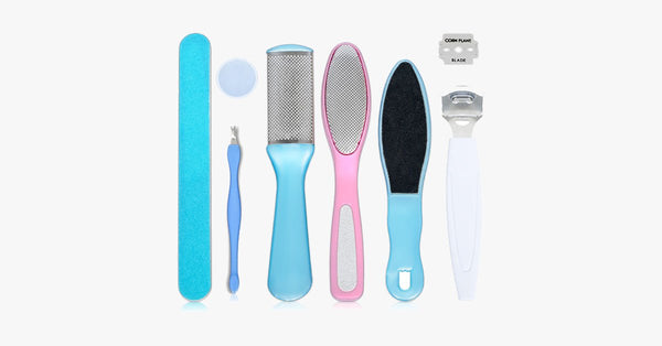 Exfoliating Pedicure Tool Set - FREE SHIP DEALS