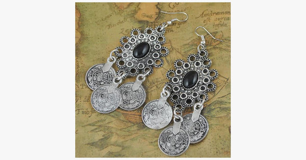 Vintage Tribal Earrings - FREE SHIP DEALS