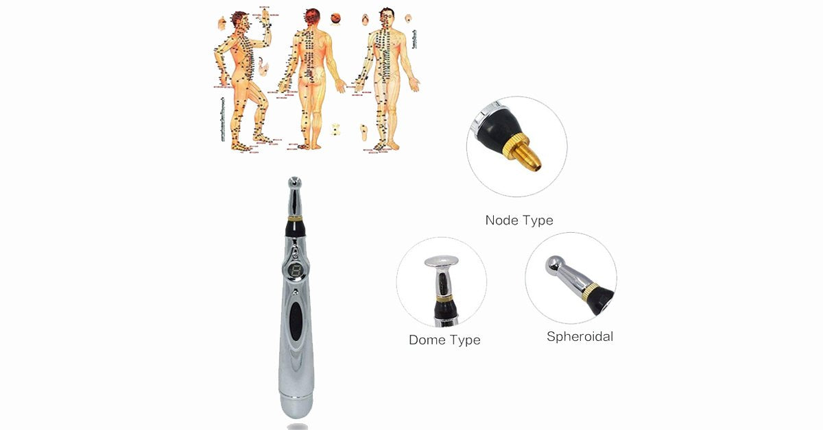 Acupuncture Pen – Needleless Acupuncture with Laser