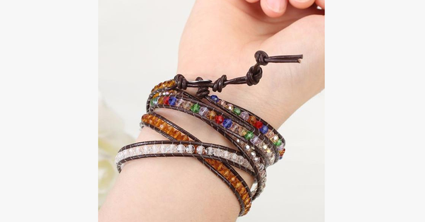Rainbow Desert Wrap Bracelet - FREE SHIP DEALS