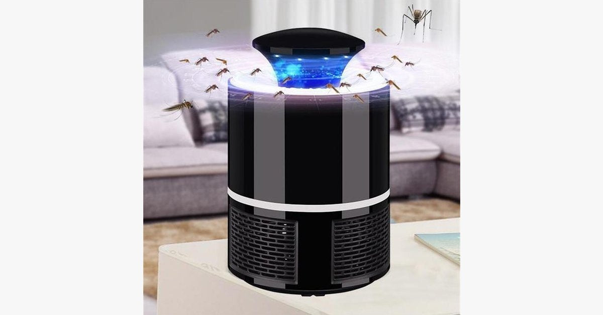 Mosquito Killer Trap USB – Trap Mosquitoes Easily!
