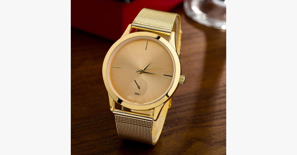 Ultra Thin Strap Luxury Unisex Watch - FREE SHIP DEALS
