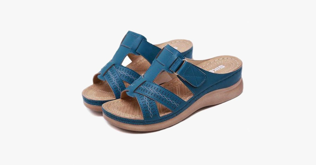 Open Toe Orthopedic Sandals