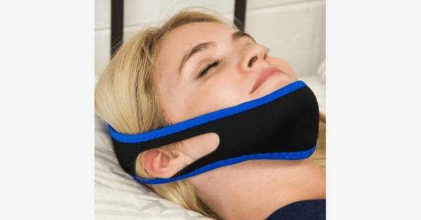 Stop Snoring Jaw and Chin Strap