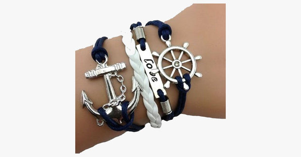 Anchor Wheel Love - FREE SHIP DEALS