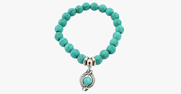 Ancient Circle Ring Turquoise Bracelet - FREE SHIP DEALS