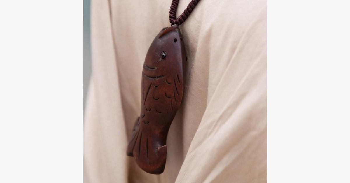 Wooden Fish Necklace - FREE SHIP DEALS