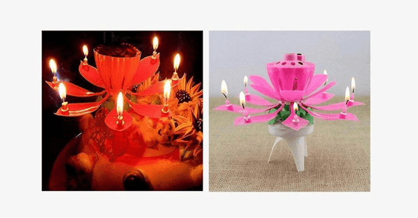 Magic Birthday Candle (Random Color) - FREE SHIP DEALS