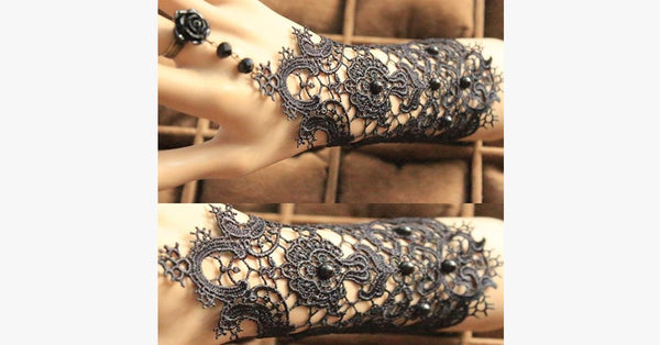 Lace Cuff Bracelet - FREE SHIP DEALS
