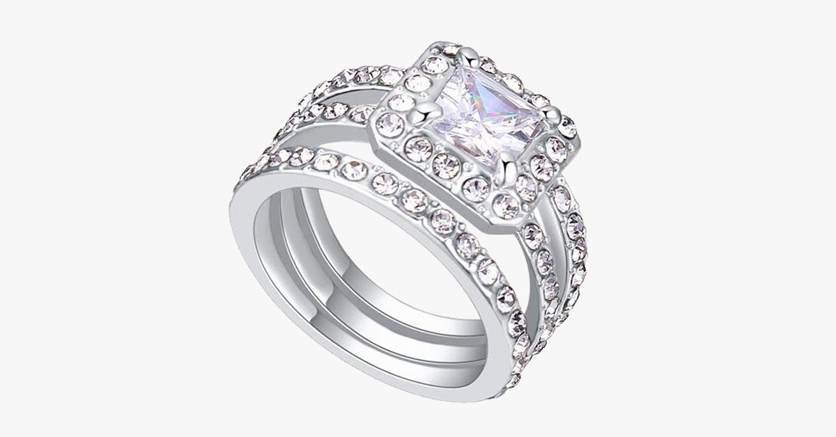 Women's Cubic  Luxury Ring - FREE SHIP DEALS