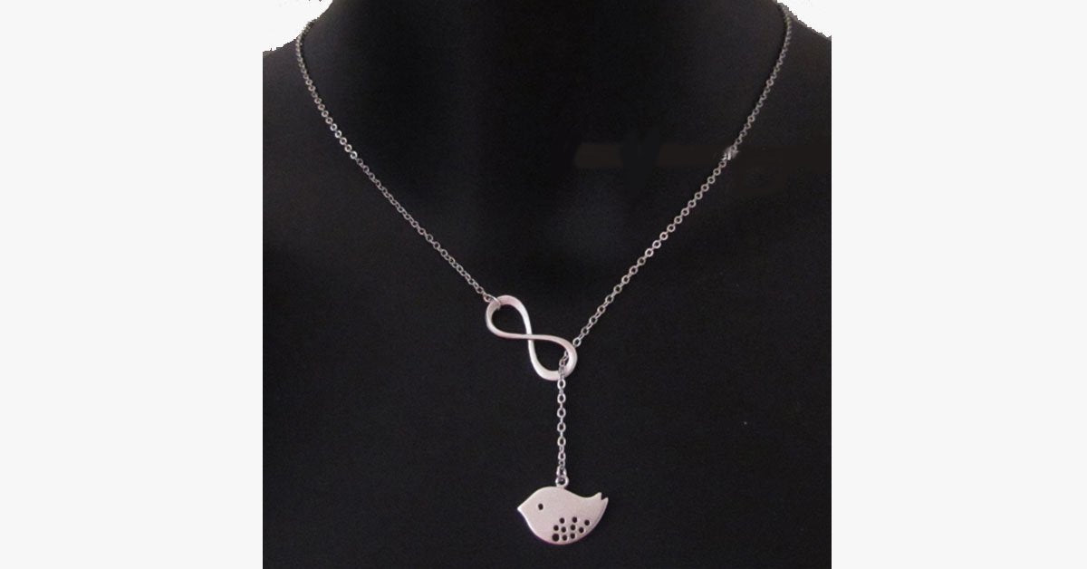Little Bird Infinity Pendant - FREE SHIP DEALS