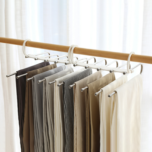 Multi-Functional Pants Rack - Overstock Clearance Sale