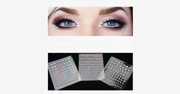 Jewel Eye Stickers - FREE SHIP DEALS