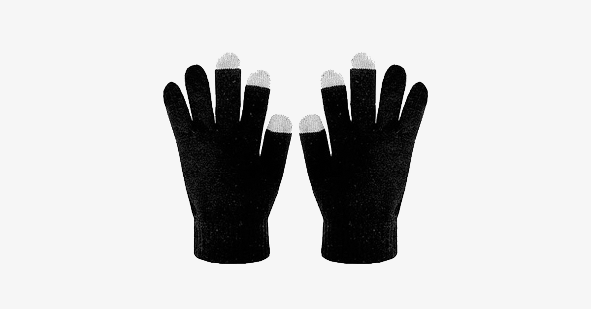 Ultra-Soft Touch Screen Gloves - Assorted Colors - FREE SHIP DEALS