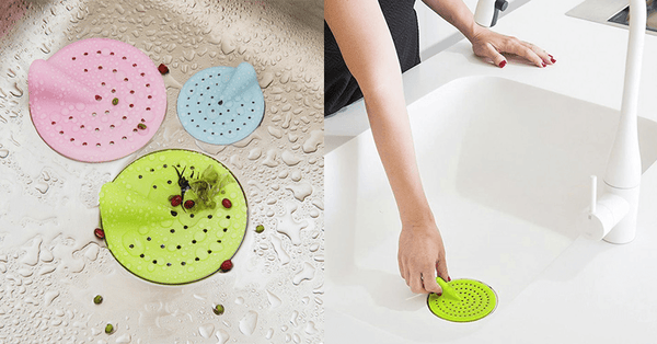 Set of 3 Smart Sink Strainers – Say Goodbye to The Mess!