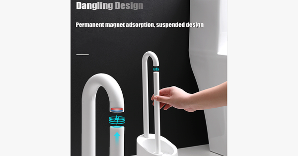 Magnetic Hook Toilet Brush