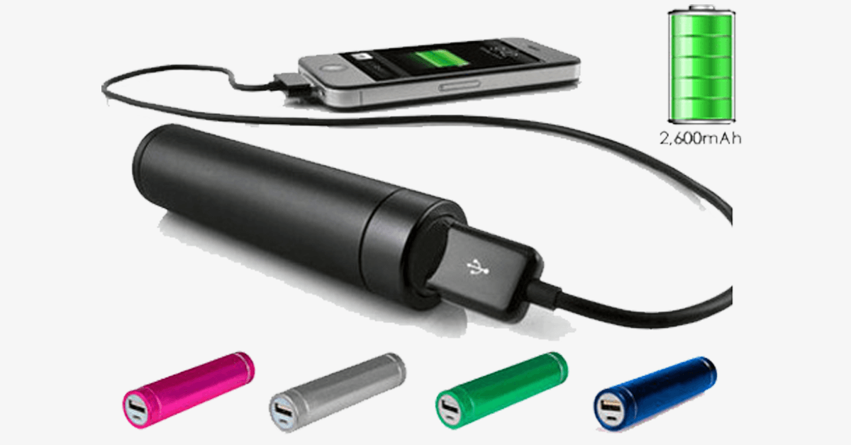 Battery Charger for Mobile Devices - Assorted Colors - FREE SHIP DEALS