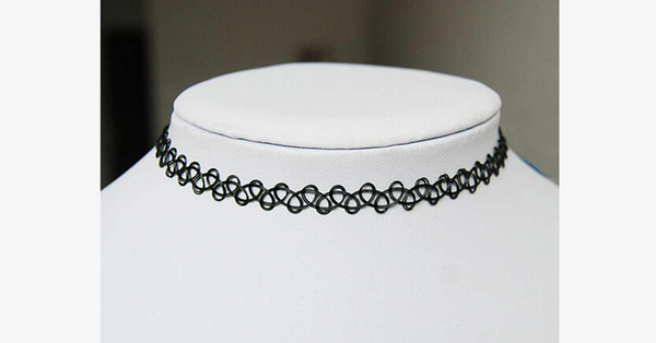 Vintage Stretch Choker Necklace - FREE SHIP DEALS